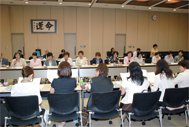 Exchange of views with women managers from other prefectures