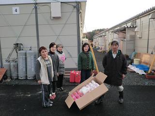 宮城県女川町出島総合グラウンド仮設住宅